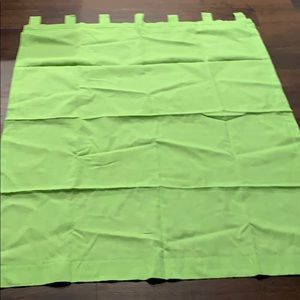 4 apple green drapes curtains